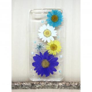 [新iPhone記念特価]Floral Happiness 押し花スマホケース iPhone6/6s Plus 219