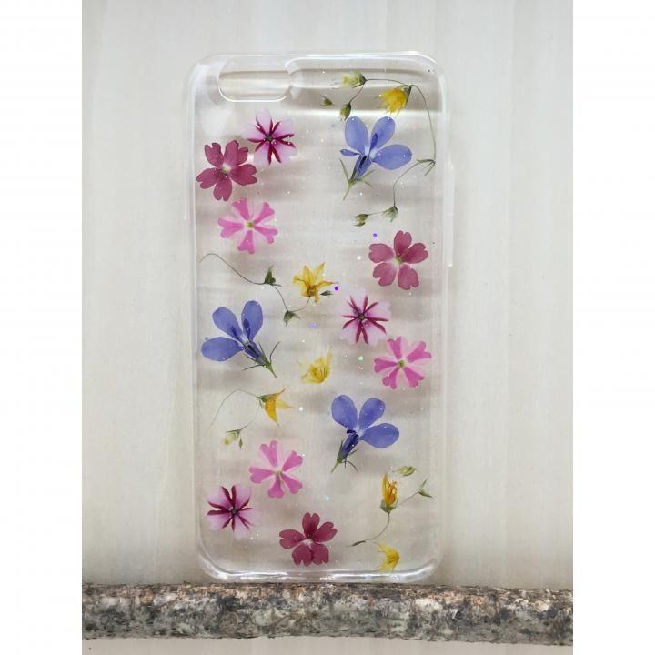 Floral Happiness 押し花スマホケース iPhone6/6s Plus 222