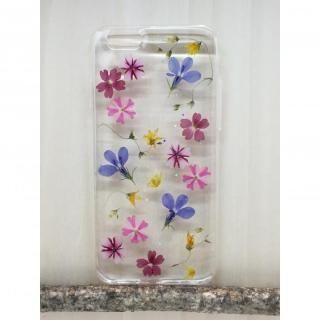 [新iPhone記念特価]Floral Happiness 押し花スマホケース iPhone6/6s Plus 222