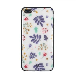 iPhone8 Plus/7 Plus ケース JM GLASS DESIGN CASE ベイビーズブレス iPhone 8 Plus/7 Plus