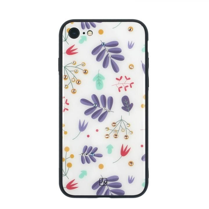 iPhone8/7 ケース JM GLASS DESIGN CASE ベイビーズブレス iPhone 8/7_0