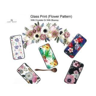 【iPhone8/7ケース】JM GLASS DESIGN CASE ラナンキュラス iPhone 8/7_1