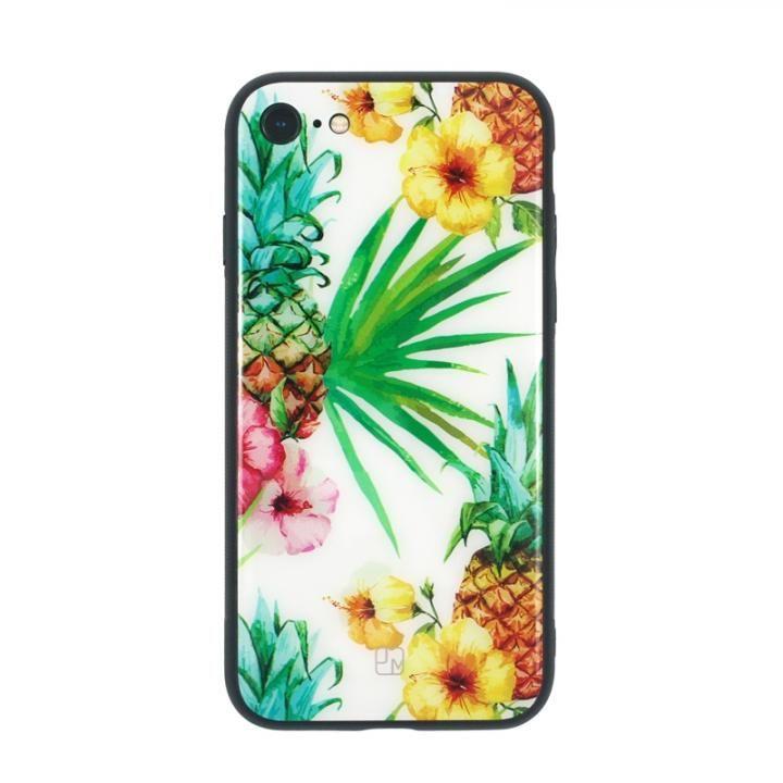 JM GLASS DESIGN CASE パイナップル iPhone 8/7【7月下旬】