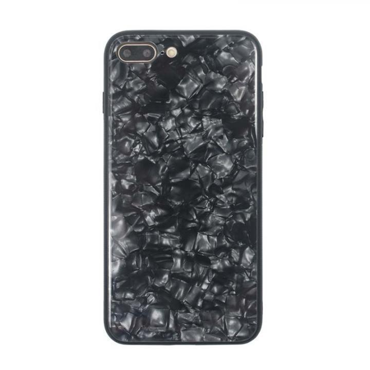 iPhone8 Plus/7 Plus ケース JM GLASS PEARL CASE ブラック iPhone 8 Plus/7 Plus_0