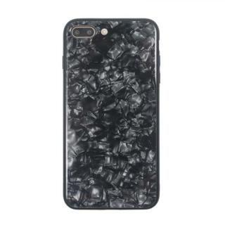 JM GLASS PEARL CASE ブラック iPhone 8 Plus/7 Plus【7月下旬】