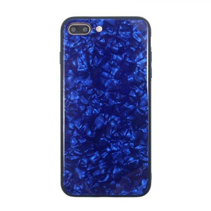 iPhone8 Plus/7 Plus ケース JM GLASS PEARL CASE ブルー iPhone 8 Plus/7 Plus_0