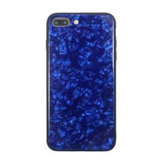 JM GLASS PEARL CASE ブルー iPhone 8 Plus/7 Plus