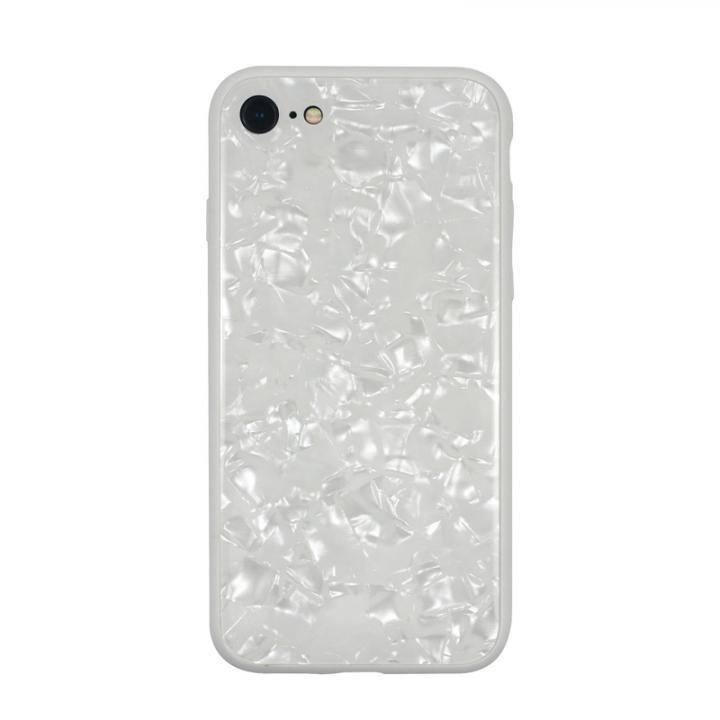 iPhone8/7 ケース JM GLASS PEARL CASE ホワイト iPhone 8/7_0