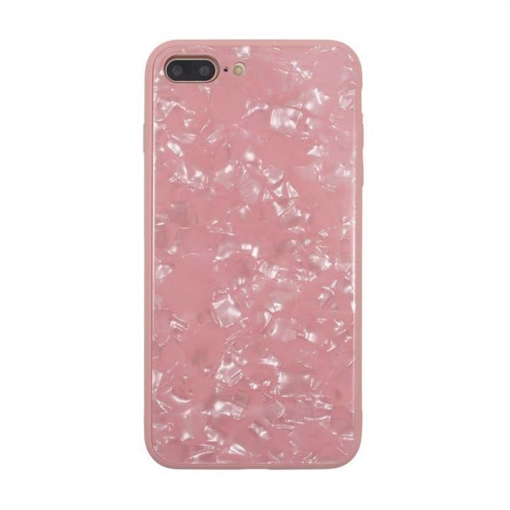 JM GLASS PEARL CASE ピンク iPhone 8 Plus/7 Plus【7月下旬】