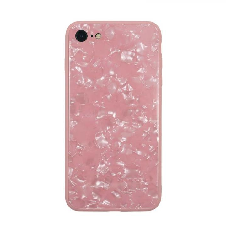 JM GLASS PEARL CASE ピンク iPhone 8/7