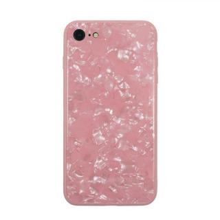 【iPhone8/7ケース】JM GLASS PEARL CASE ピンク iPhone 8/7