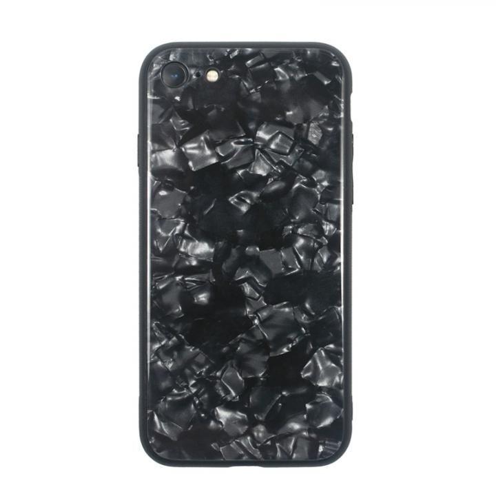 iPhone8/7 ケース JM GLASS PEARL CASE ブラック iPhone 8/7_0
