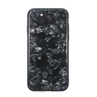 JM GLASS PEARL CASE ブラック iPhone 8/7