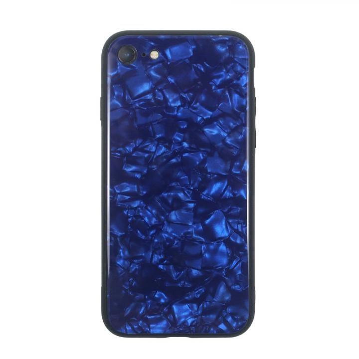 iPhone8/7 ケース JM GLASS PEARL CASE ブルー iPhone 8/7_0