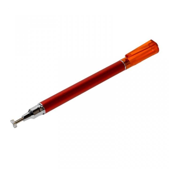先端を交換できるタッチペン ねらえるタイプ レッド_0