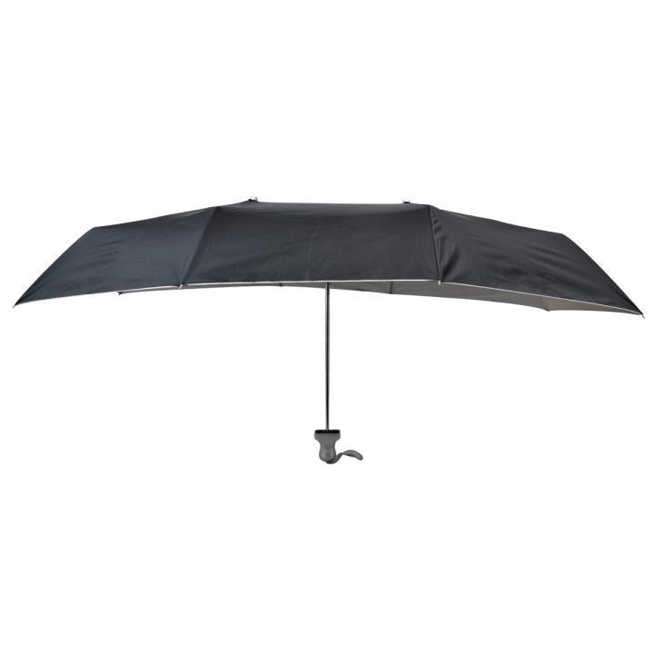 折り畳み式横長傘「お出迎え」黒_0