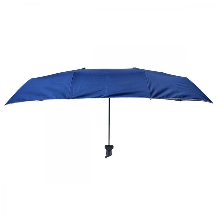 折り畳み式横長傘「お出迎え」青