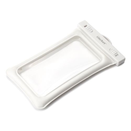 iPhone XR/XS/XS Max ケース 防水ポーチ IPX8準拠 エアバックタイプ ホワイト_0