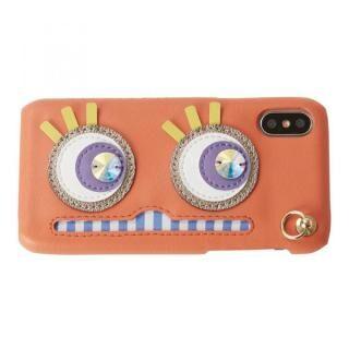 iPhone XS/X ケース STARRY FEM Abby コーラルピンク iPhoneXS/X