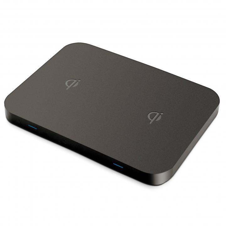 Qi対応ワイヤレス充電器 2台用_0