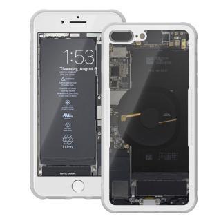 【iPhone8 Plusケース】背面強化ガラスケース Eureka Translucent ホワイト iPhone 8 Plus_1