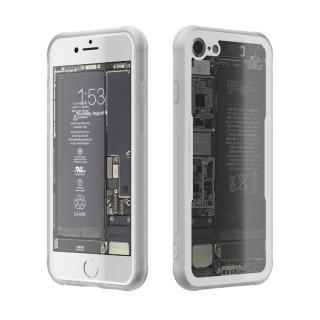 【iPhone7ケース】背面強化ガラスケース Eureka Translucent ホワイト iPhone 7