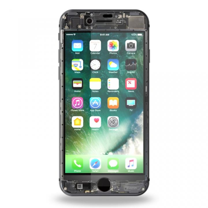 【iPhone8フィルム】[0.26mm]EUREKA ラウンドエッジ強化ガラス Translucent iPhone 8_0