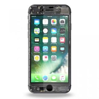 【iPhone8フィルム】[0.26mm]EUREKA ラウンドエッジ強化ガラス Translucent iPhone 8