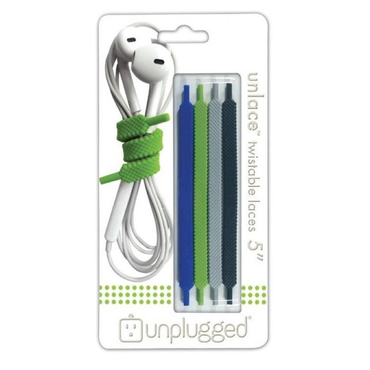 unplugged ケーブルオーガナイザー UNLACE5 forest
