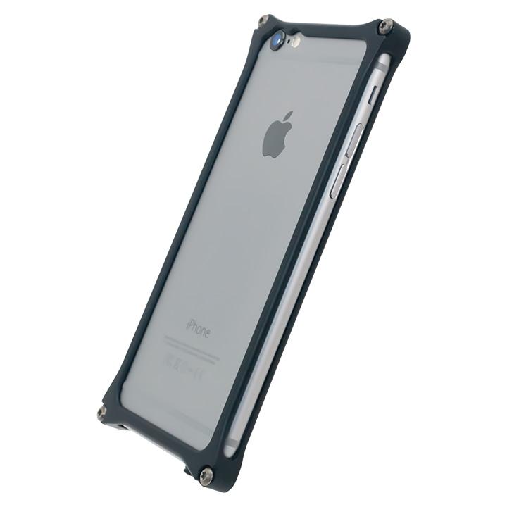 【iPhone6s/6ケース】[AppBank Store オリジナル]ソリッドバンパー マットブラック iPhone 6s/6_0