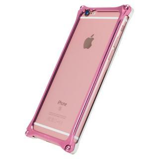 [AppBank Store オリジナル]ソリッドバンパー シルバー×ローズゴールド iPhone 6s/6