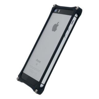 [2018バレンタイン特価][AppBank Store オリジナル]ソリッドバンパー マットブラック iPhone SE/5s/5