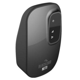 NETTI スマートWi-Fi中継器 ブラック【8月中旬】
