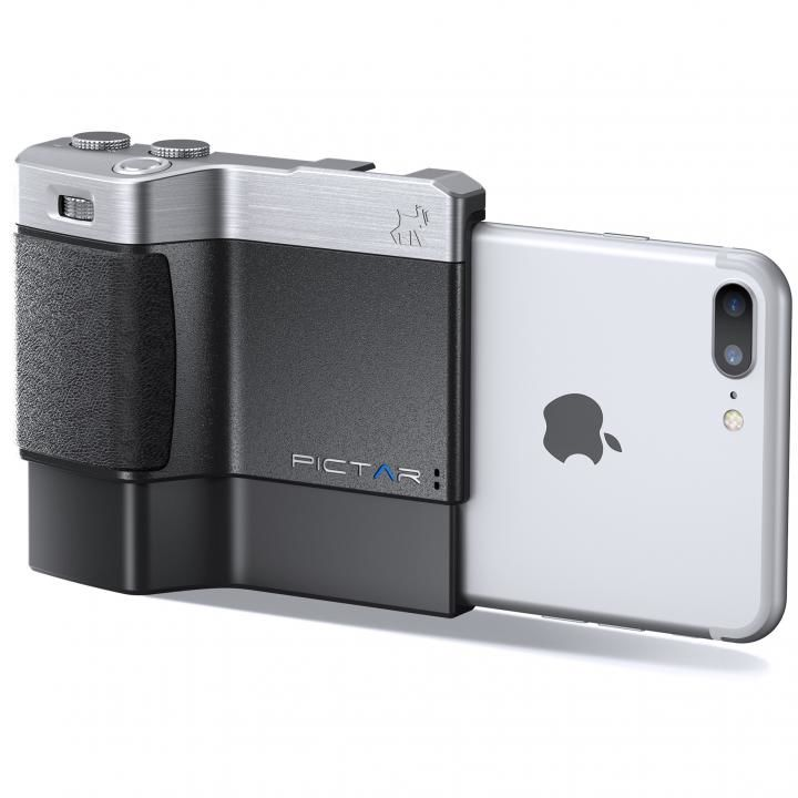 iPhone用カメラグリップ Pictar One Plus iPhone X/8 Plus/7 Plus/ 6s Plus/6 Plus_0