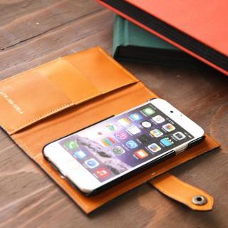 【iPhone6s/6ケース】手帳型ケース ドット柄ブラック iPhone 6s/6_2