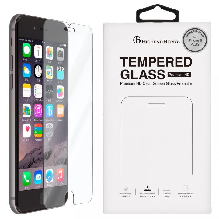 [5月特価][0.33mm]硬度9H強化ガラス TEMPERED GLASS iPhone 6s Plus/6 Plus