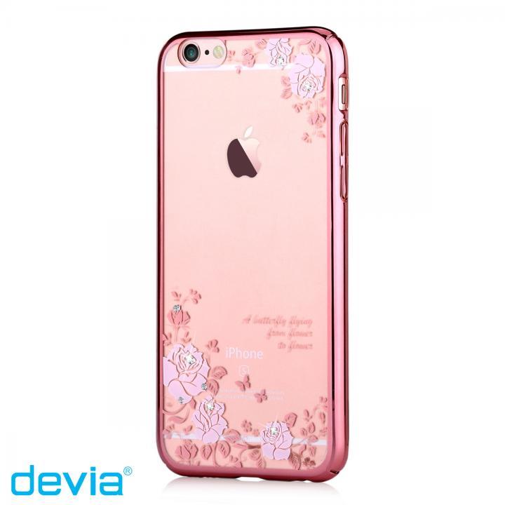 【iPhone6s/6ケース】スワロフスキーハードケース Crystal joyous ローズゴールド iPhone 6s/6_0