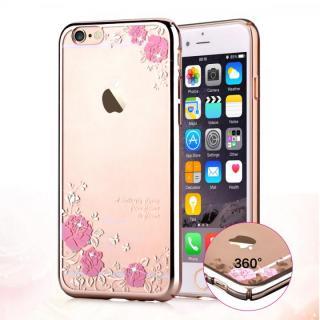 【iPhone6s/6ケース】スワロフスキーハードケース Crystal joyous ローズゴールド iPhone 6s/6_1