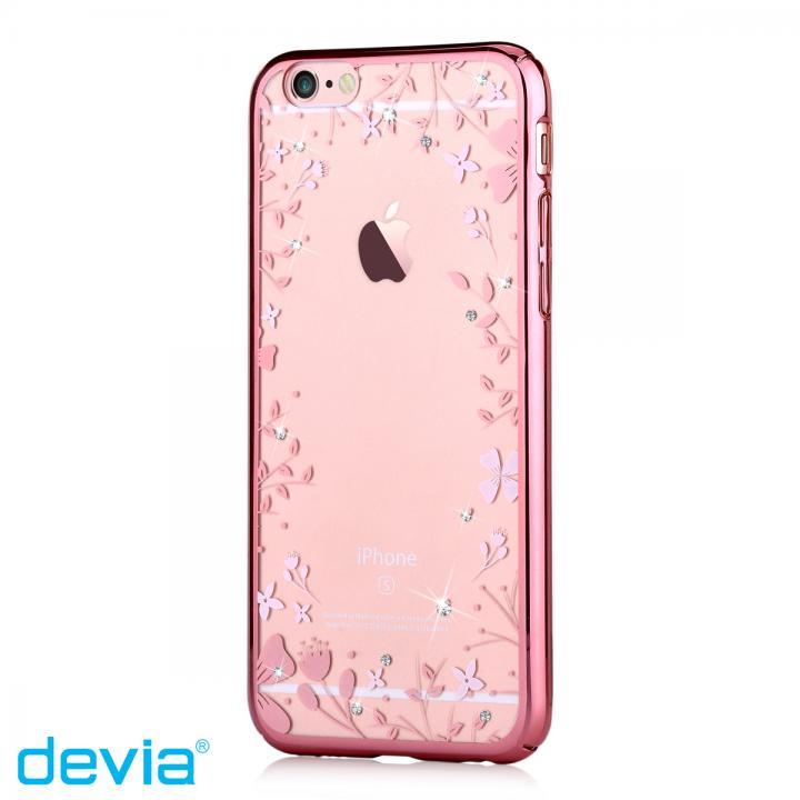 スワロフスキーハードケース Crystal spring ローズゴールド iPhone 6s/6
