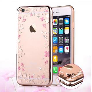 【iPhone6s/6ケース】スワロフスキーハードケース Crystal spring ローズゴールド iPhone 6s/6_1