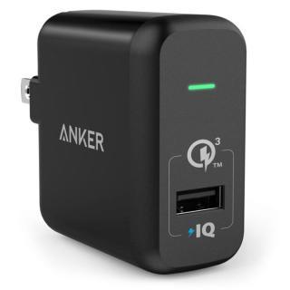 Anker PowerPort+1 1ポート Quick Charge 3.0対応 18W ブラック