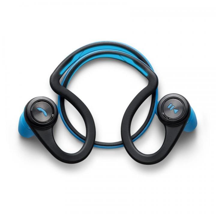 ワイヤレスでスポーツに最適 BackBeat Fit ブルー Bluetooth対応_0