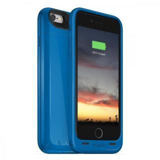 【iPhone6ケース】[2750mAh]バッテリー内蔵ケース mophie juice pack air ブルー iPhone 6