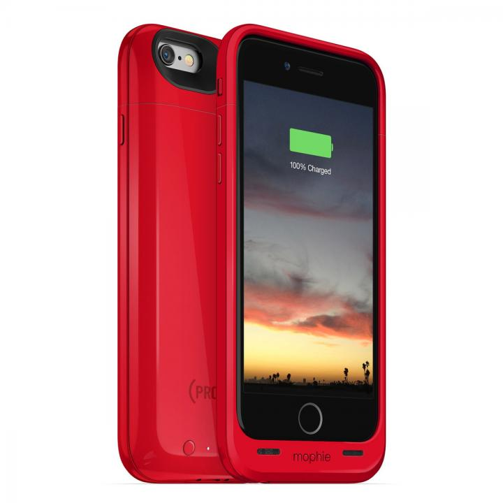 【iPhone6ケース】[2750mAh]バッテリー内蔵ケース mophie juice pack air RED iPhone 6_0