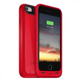 【iPhone6ケース】[2750mAh]バッテリー内蔵ケース mophie juice pack air RED iPhone 6