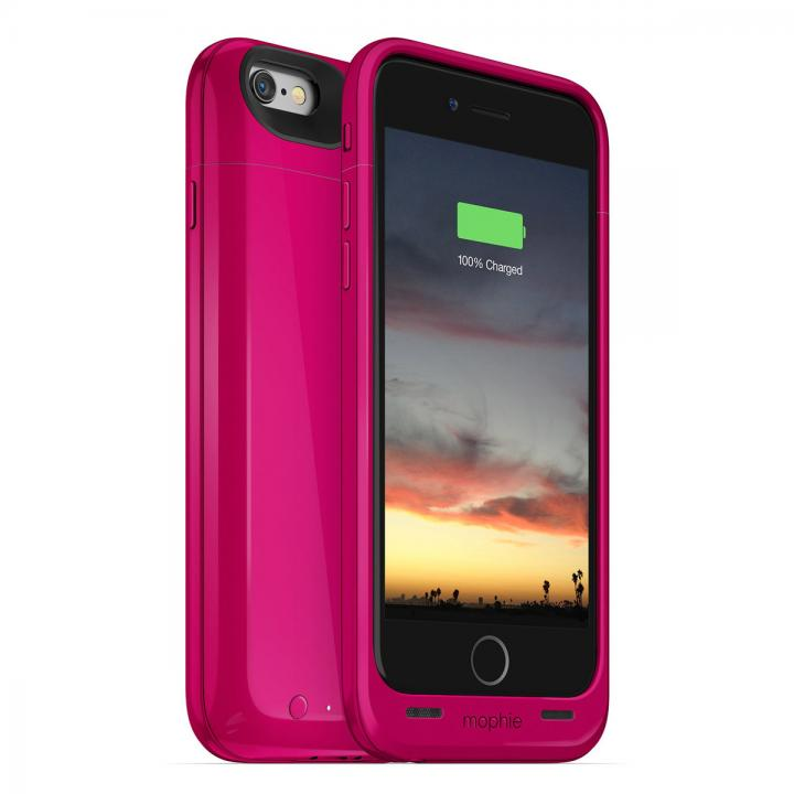 [2750mAh]バッテリー内蔵ケース mophie juice pack air ピンク iPhone 6