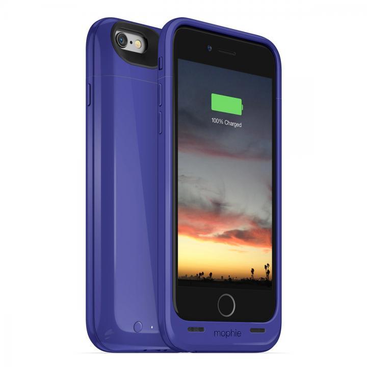 【iPhone6ケース】[2750mAh]バッテリー内蔵ケース mophie juice pack air パープル iPhone 6_0