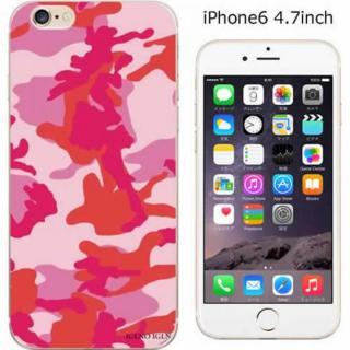 iPhone6 ケース コーディネートカラーハードケース iglno iglno. カモフラージュ/レッド iPhone 6ケース