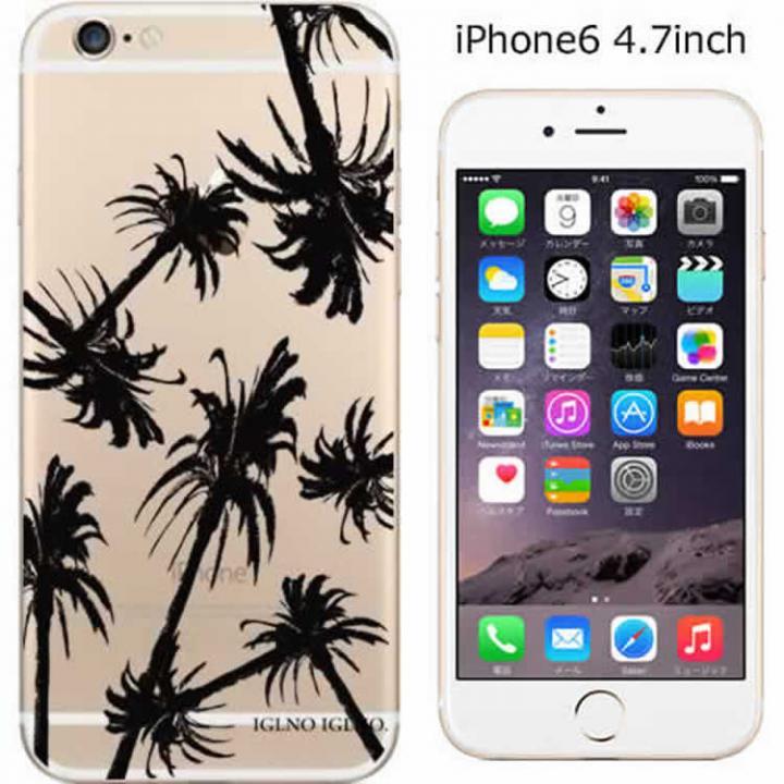 コーディネートカラーハードケース iglno iglno. クリアパーム/ブラック iPhone 6ケース