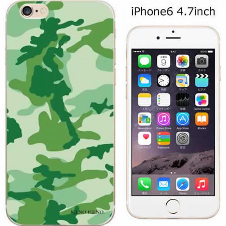 【iPhone6ケース】コーディネートカラーハードケース iglno iglno. カモフラージュ/グリーン iPhone 6ケース_0